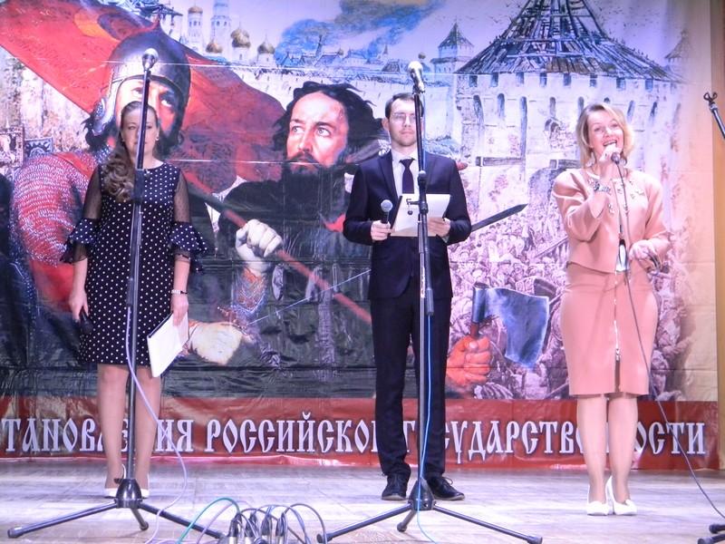 Открыла фестиваль председатель совета Южского муниципального района Е.А.Муратова